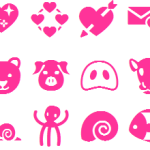 Cute Emoticons Emoji list