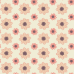 Peachy Mauve Seamless Pattern Set