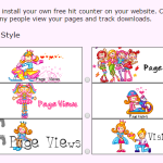 Cute Web Page Counters *FREE*