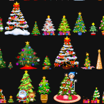 Animated Christmas Trees