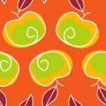 Apple Mango Tango Seamless Pattern Set