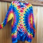 Youth Small Long Sleeve Tie Dyes