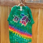 Two Turtles Batik Tie Dye