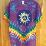 Sun Shine Batik Tie Dye Shirt