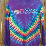 Small Beatles Batik Tie Dye Long Sleeve ⋆ Violablu's Tie Dyes